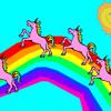 Pink fluffy unicorns