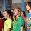 Conestoga Valley Middle School Song cast sings