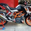 KTM Duke 390 With Akra Dyno