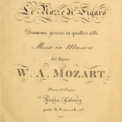 Mozart - Marriage of Figaro Overture