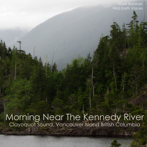 Near Clayquot Plateau Provincial Park Kennedy River BC Long