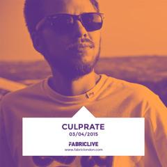 Culprate - FABRICLIVE Promo Mix