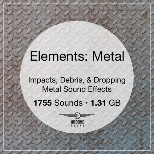 Elements: Metal Sound FX Library Preview Montage