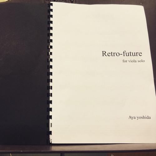 Retro-future for viola solo