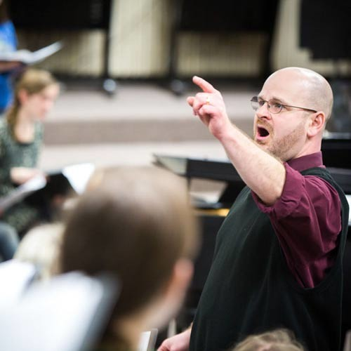 Engaging the Community through Music | Dr. Scott Finch '96