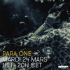 Para One on Rinse FR - 2 hours of techno (sort of) - 24/03/15