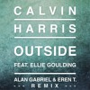 Calvin Harris Outside Ft Ellie Goulding Alan Gabriel Eren T Vox Remix mp3