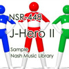 [royalty-free music] NSR - 448 J-Hero II  試聴用sample (2015年03月リリース)