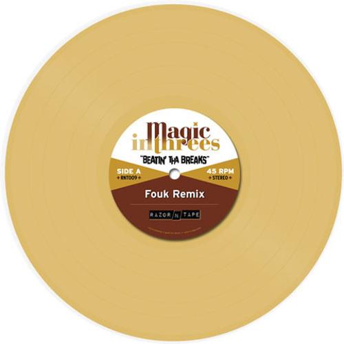 Magic In Threes - Beatin' Tha Breaks (Fouk Remix) - Digi Out Now!