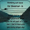 Thinking Out Loud by Ed Sheera. at Home