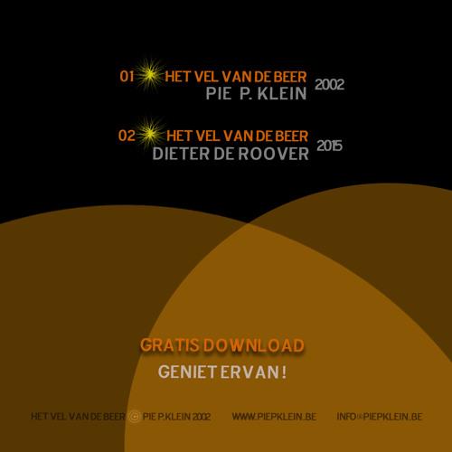 01 - Het Vel Van De Beer - pIE p.KLEIN