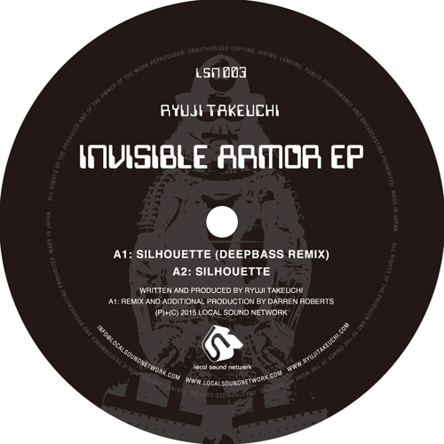 [PREVIEW] Ryuji Takeuchi - Invisible Armor EP [LSN003]