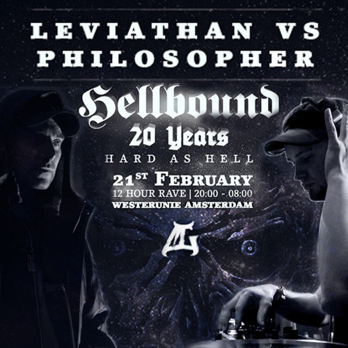 Leviathan & The Philosopher @ Hellbound - 21-02-2015