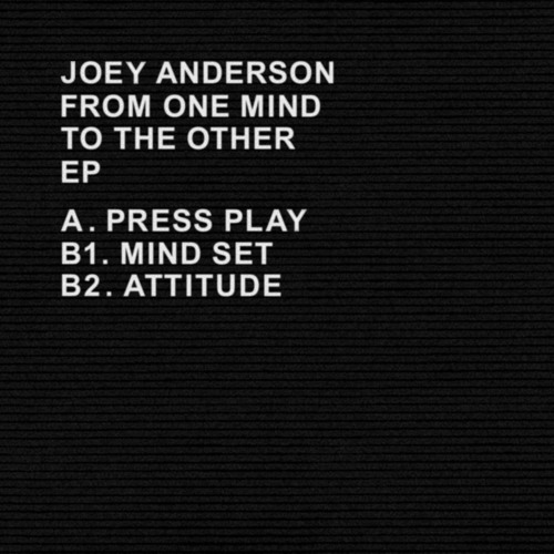 Joey Anderson - B.1 Mind Set [LTNC002]