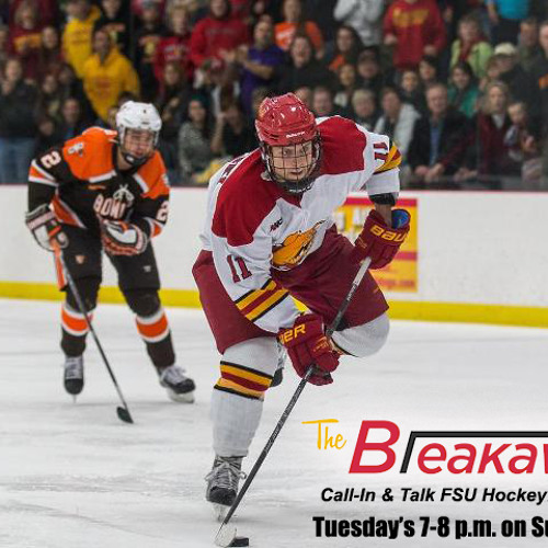 Breakaway Talk Radio Show 3/31/15 (Ferris State Hockey)