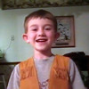 5 year old Greyson sings 'Proud to be an American'