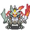 Pokemon Black And White Reshiram - Zekrom Battle! Extended