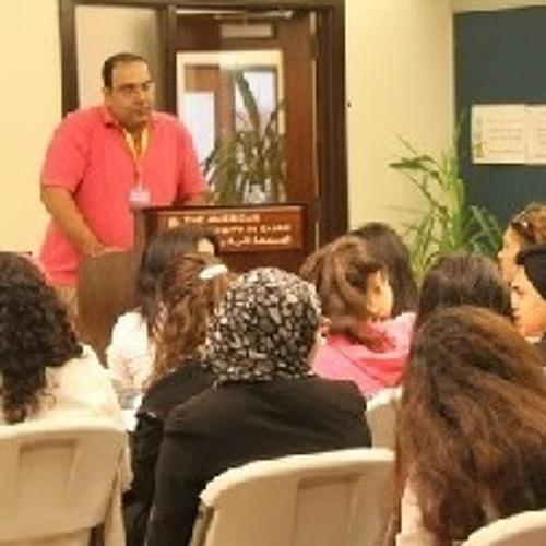 Mahmoud Salem @Sandmonkey Social Media Conference at AUC