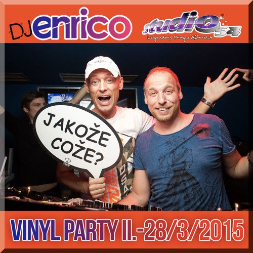 DJ Enrico - Live At Vinyl Party Vol 2. Studio 54  28/3/2015
