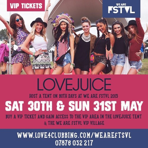 WE ARE LOVEJUICE MIX Vol 7: WE ARE FSTVL 2015