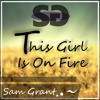 This Girls Is On Fire Cover - Sam Grant Portada del disco