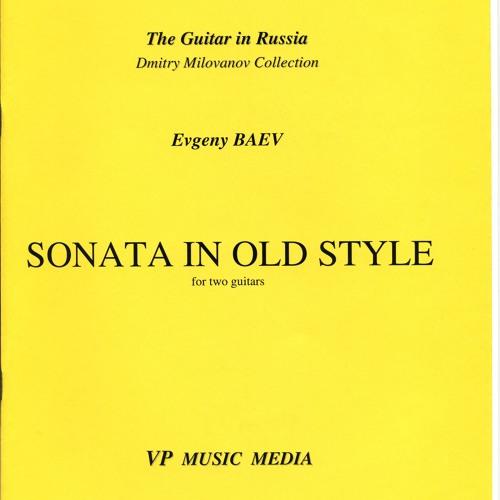 Evgeny Baev - Sonata in Old Style - Elena Muravjova violin & Evgeny Baev guitar