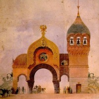 Modest Mussorgsky - Catacombs (Sepulcrum romanum) and Con mortuis in lingua mortua