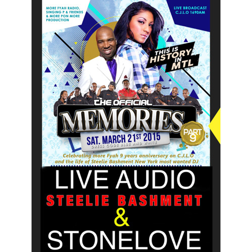 LIVE AUDIO STONELOVE & STEELIEBASHMENT IN MONTREAL MARCH 21