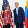 Declaraciones de la Canciller María Ángela Holguín tras su reunión bilateral con John Kerry