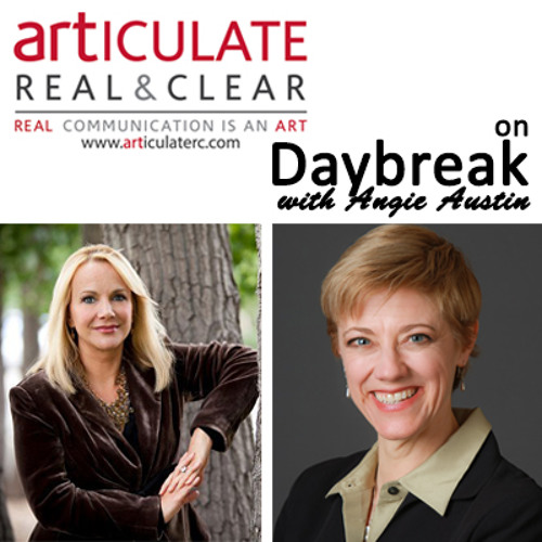 Don't Give Away Your Power - Hilary Blair on Daybreak USA With Angie Austin