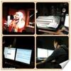 Backup singer (bunga) single saiful azhar at NAR Records Sdn. Bhd