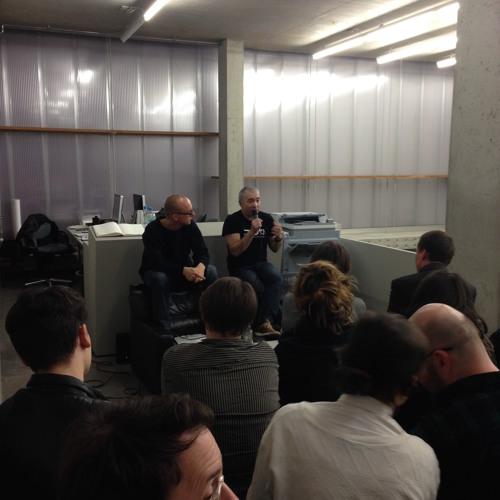 Dmitry Vilensky (Chto Delat) in conversation with Alexander Koch (KOW) (April 9, 2015)