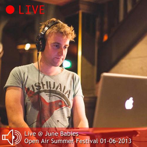 Live @ June Babies - Open Air Summer Festival - London 01-06-2013