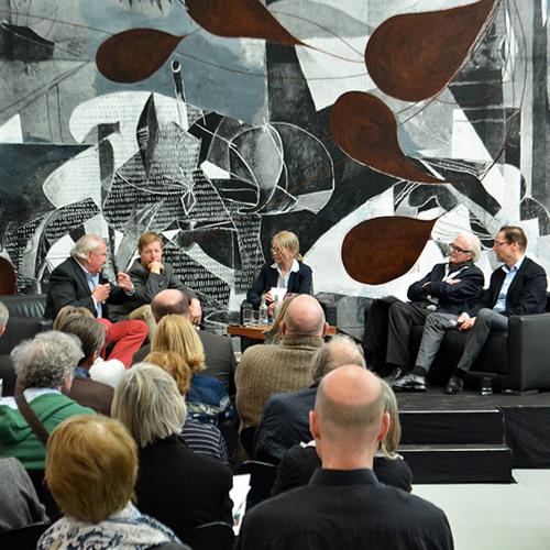 Podiumsgespräch mit Zdenek Felix, Robert Fleck, F.C. Gundlach und Dirk Luckow