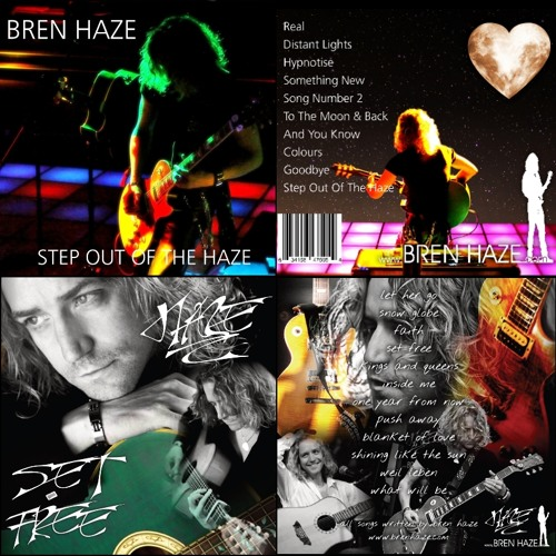A few tracks from 2015 Step Out Of The Haze & 2014 Debut Set Free