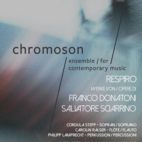 ensemble chromoson - Donatoni - Omar I (excerpt)