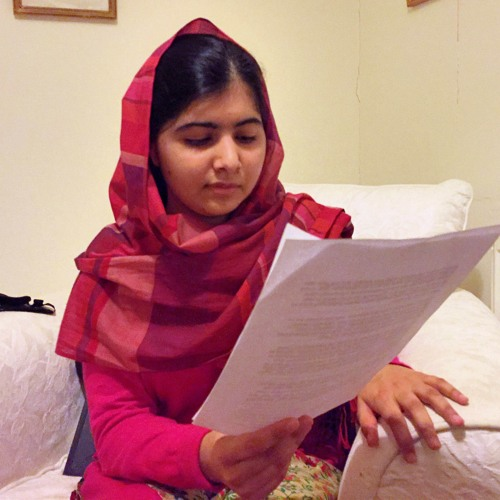 Malala Reads Her Open Letter to the Kidnapped Nigerian Schoolgirls