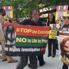 KPFT Local News Live Report At Texas Death Penalty Abolition Movement Downtown Houston
