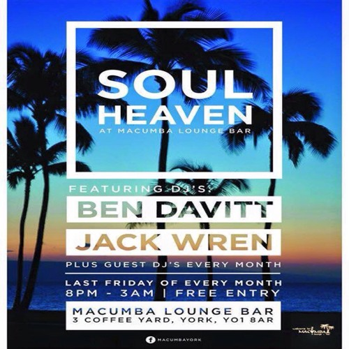 Soul Heaven Guest Mix DJ David Dunn