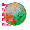 How to make educational videos (short-version)