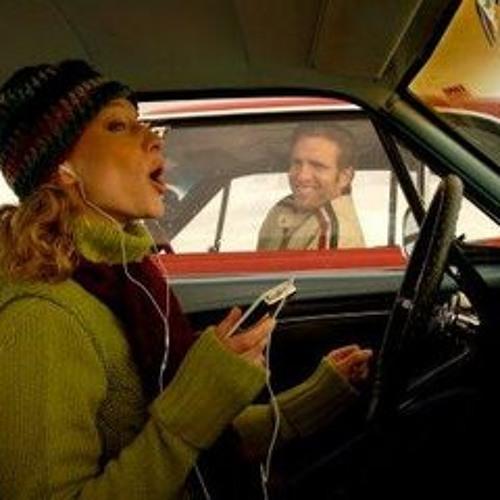 Vrouwen zingen en mannen flirten in de file