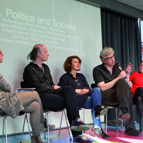 Kuratorische Ethik, Konferenz, Kunsthalle Wien 9/4 – 11/4 2015