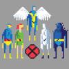 X-Men Animated Series - 8 bit version
