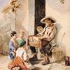 Heinrich Klassen, The poor barrel-organ player