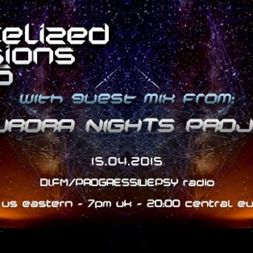Artelized With Guest Aurora Nights Project - Artelized Visions 016 (April 2015) On Di.fm
