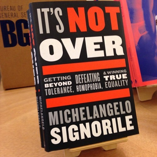 """Michelangelo Signorile on """"It's Not Over"""""""
