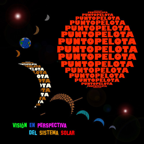 puntopelota (vision en perspectiva del sistema solar)