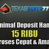 Texaspoker77.com Situs Judi Uang Asli Indonesia Resmi dan Terpercaya