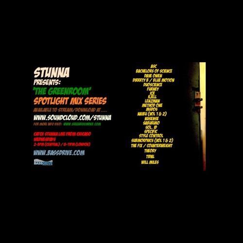 STUNNA Greenroom Spotlight Mix Episode 14 - ASC
