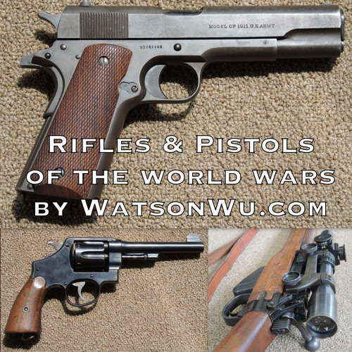 Rifles & Pistols of The World Wars - sound effects library